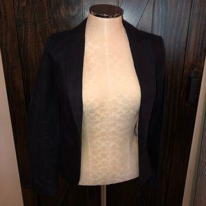 Beautiful Navy linen blend H&M blazer